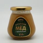 Мёд алтайский с прополисом, 330 гр