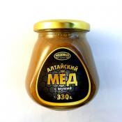 Мёд алтайский с мумиё, 330 гр